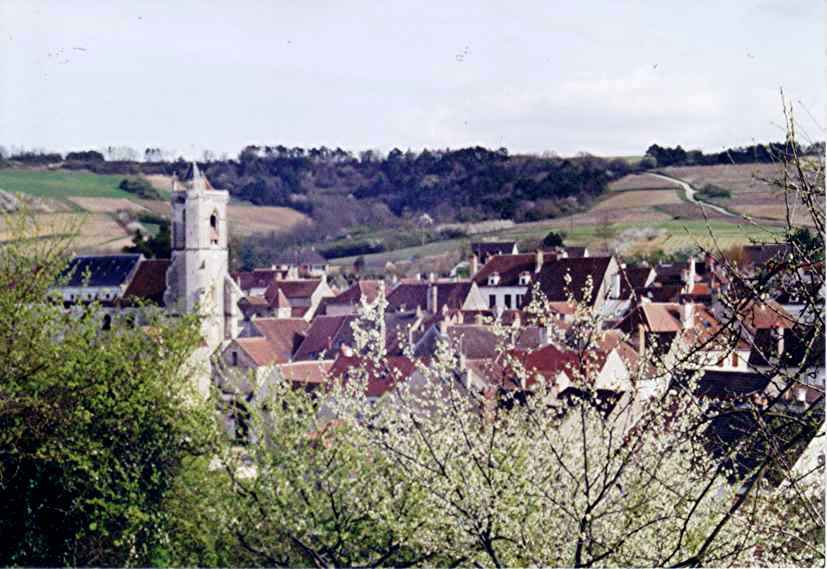 Irancy, fief seigneurial Irancy_village